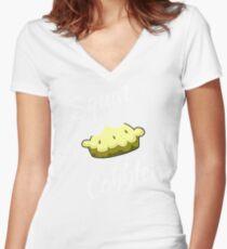 Better Call Saul Squat Cobbler T-Shirt Women's Fitted V-Neck T-Shirt