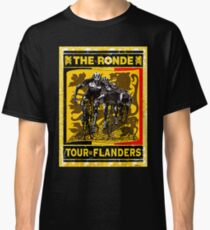 TOUR OF FLANDERS: Vintage Bicycle Racing Print Classic T-Shirt