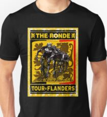 TOUR OF FLANDERS: Vintage Bicycle Racing Print Unisex T-Shirt