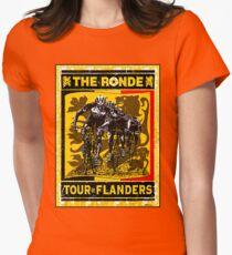 TOUR OF FLANDERS: Vintage Bicycle Racing Print T-Shirt