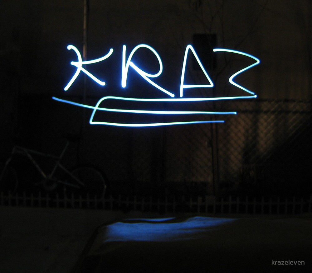 LITE WRITING... by krazeleven
