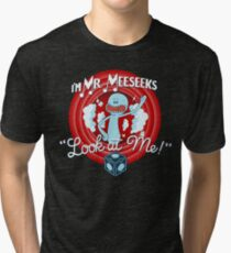 Merrie Mr. Meeseeks - shirt Tri-blend T-Shirt