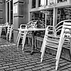 Silver chairs.  by Ian Ramsay