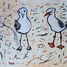 Seagull family by donna malone
