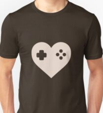 Gaming Heart XBOX Console PlayStation T-Shirt