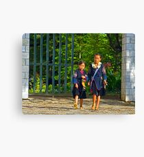 Girls. Canvas Print
