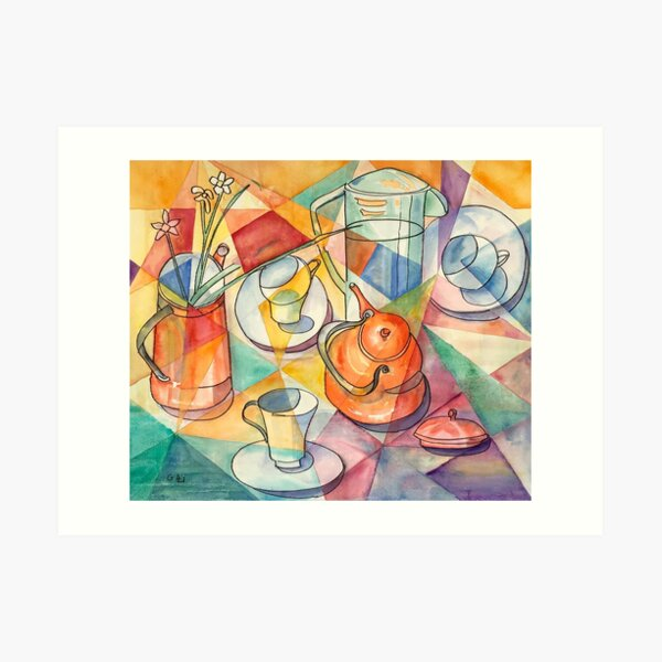 Breakfast Table Art Print