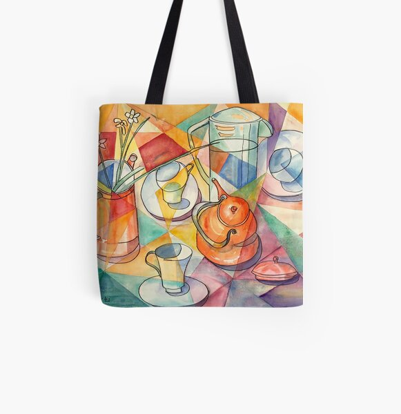 Breakfast Table All Over Print Tote Bag