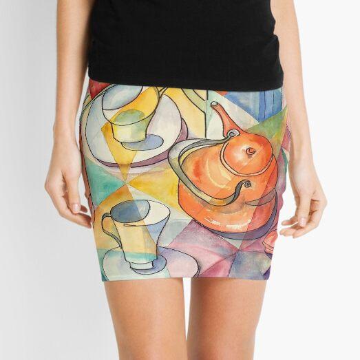 Breakfast Table Mini Skirt