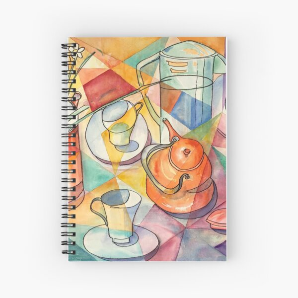 Breakfast Table Spiral Notebook