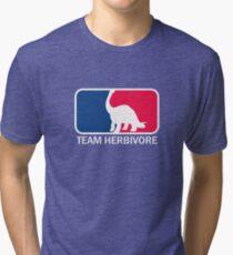 Team herbivore  Tri-blend T-Shirt