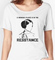 Princess Leia Resist Women's Relaxed Fit T-Shirt