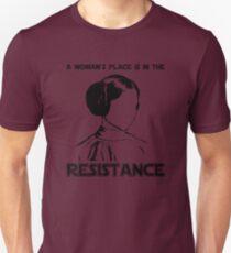 Princess Leia Resist T-Shirt
