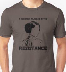 Princess Leia Resist Unisex T-Shirt