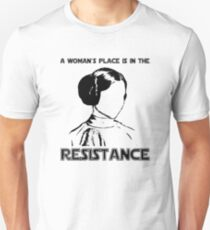 Princess Leia Resist Unisex T-Shirt