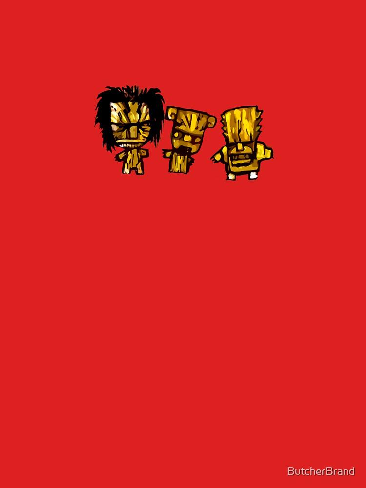 Tiki God Trio by ButcherBrand
