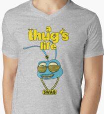 A Thug's Life Men's V-Neck T-Shirt