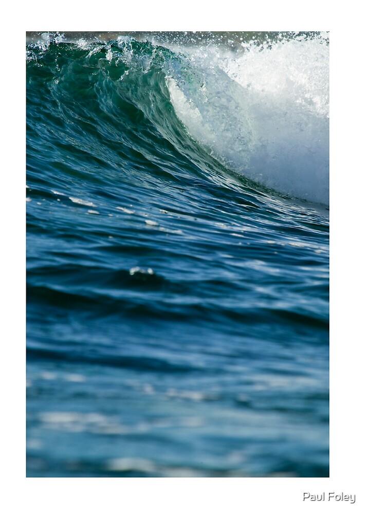 Breaking Wave, East Coast Australia by Paul Foley
