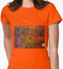 Sun blocked Womens Fitted T-Shirt