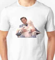 ANDREW RANNELLS AND SOME PUPPERS Unisex T-Shirt