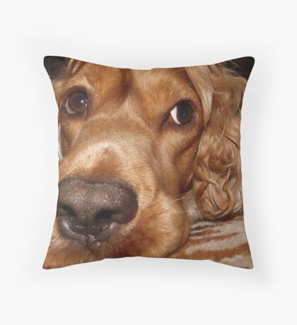 MY NOSE IS BIG ? :) Throw Pillow