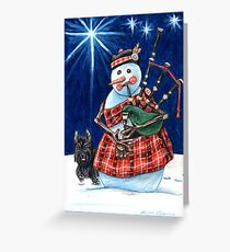 MacFrosty Greeting Card
