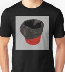 0048 Red Art Trashcan T-Shirt