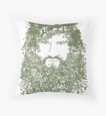 The Naturist Throw Pillow