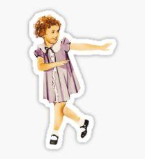 Shirley Temple  Sticker