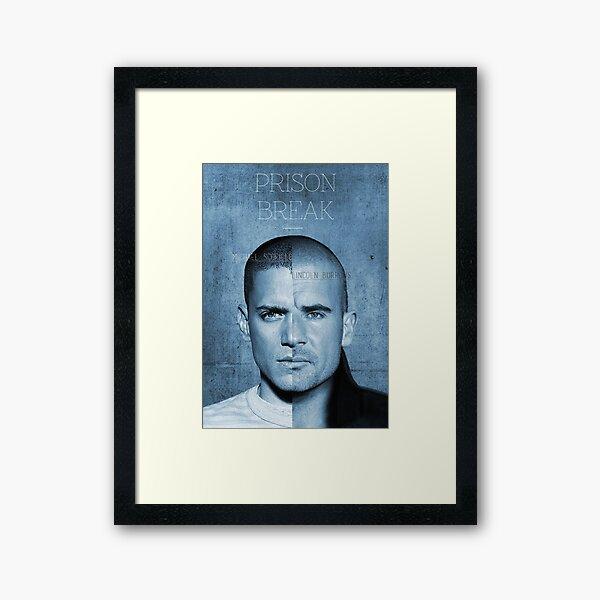 SEQUEL PRISON BREAK DANDANG3 Framed Art Print