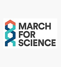 March for science astronaut Photographic Print