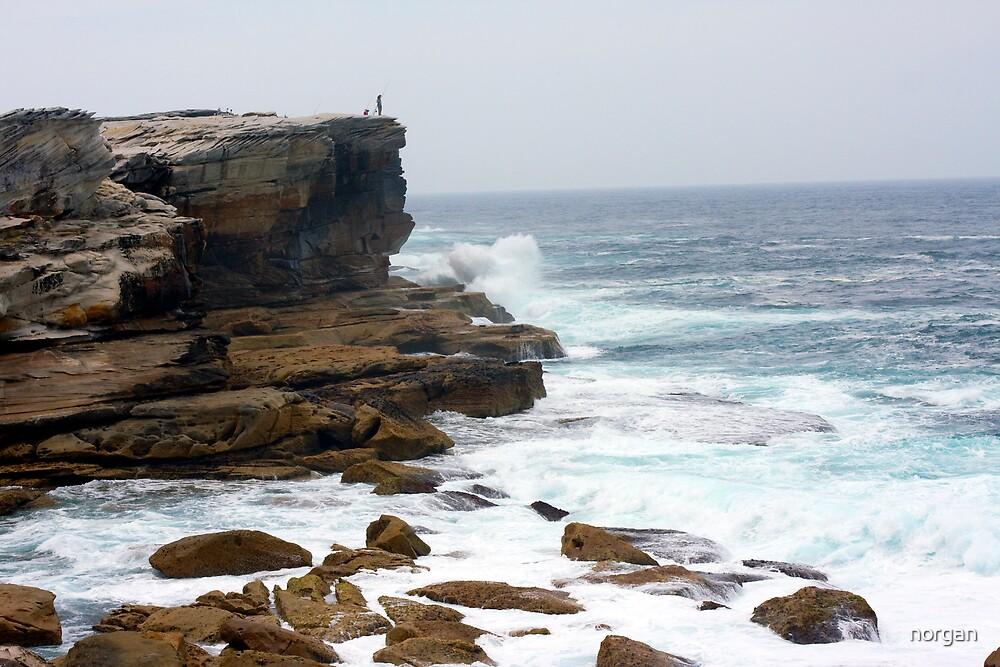 Crashing Waves by norgan