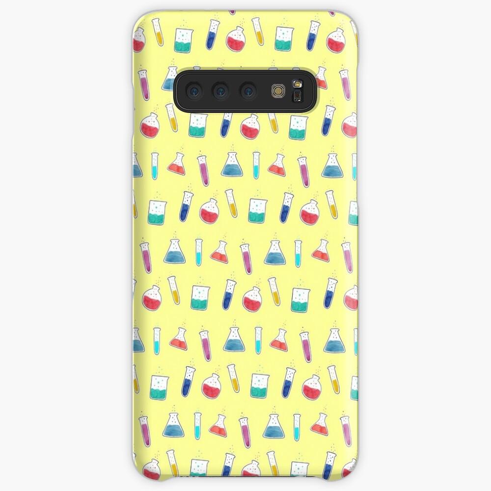 Good Chemistry - Light Background Case & Skin for Samsung Galaxy