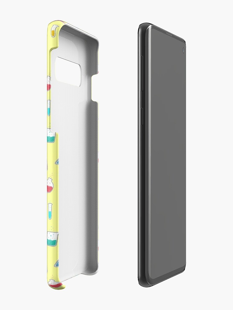 Alternate view of Good Chemistry - Light Background Case & Skin for Samsung Galaxy