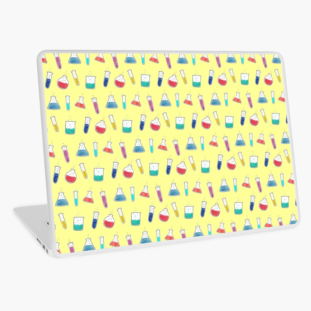 Good Chemistry - Light Background Laptop Skin