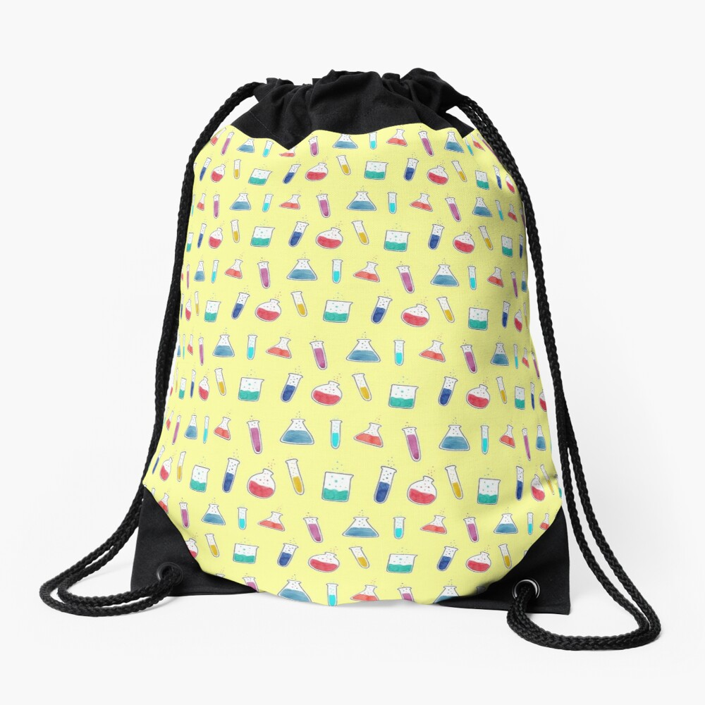 Good Chemistry - Light Background Drawstring Bag