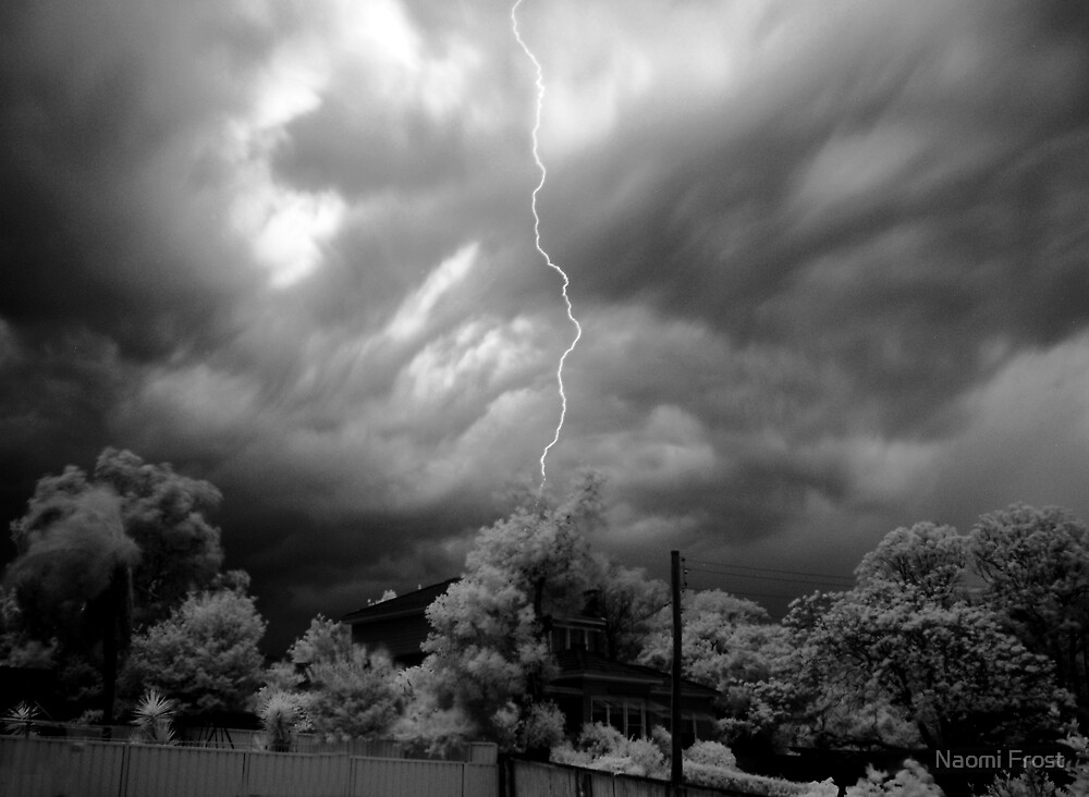 Infrared Lightening  by Naomi Frost