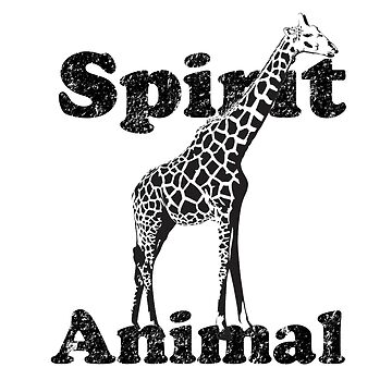 Spirit Animal- Giraffe by JungleCrews