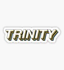 Trinity Retro Layers Sticker