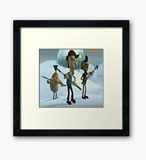 Theres Gonna Be Caribou Chilli Tonight Boys! Framed Print
