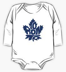 Toronto Maple Leafs blue One Piece - Long Sleeve