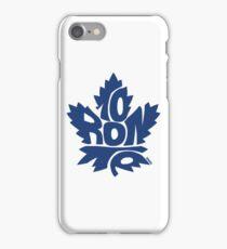 Toronto Maple Leafs blue iPhone Case/Skin