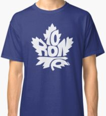 Toronto Maple Leafs white Classic T-Shirt