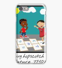 hopscotch wit a thot iPhone Case/Skin