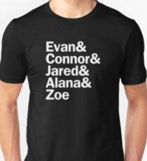 Dear Evan Hansen Characters | White T-Shirt