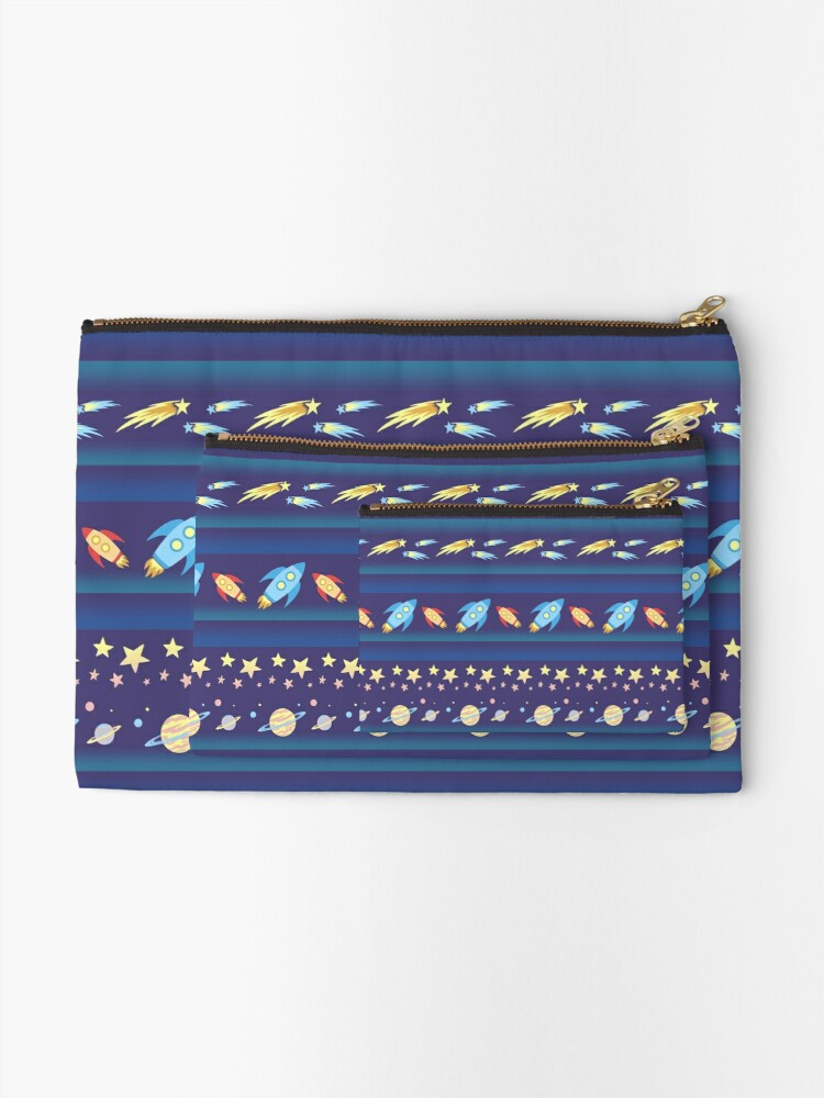 Alternate view of Space Exploration 2.0 Zipper Pouch