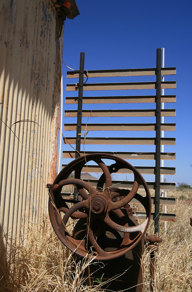Rusty Machinery, Wittenoom by Leigh Penfold