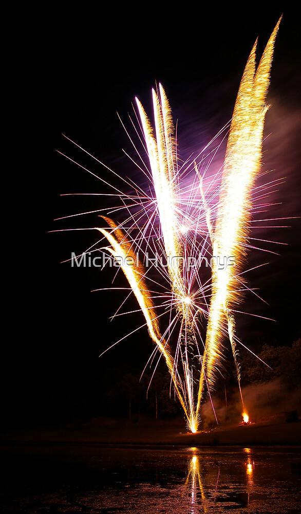 Carol's Fireworks @ Mount Barker 4 by Michael Humphrys