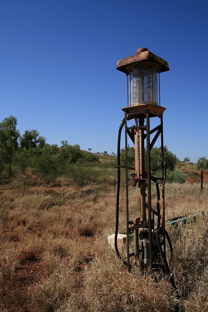 Petrol Pump, Pilbara by Leigh Penfold