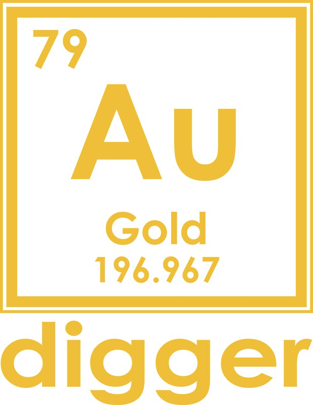 Gold digger au 196967 periodic table of elements design stickers gold digger au 196967 periodic table of elements design by nvalleydesign urtaz Gallery